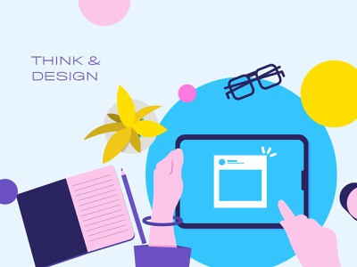 Medium Article Illustration 2 logo app typography web flat ui vector graphic design ipad women character illustration art branding fashion graphic illustration textlogo minimalist design minimal