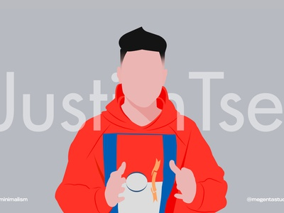 justeentse review tech youtube summer potrait men character design summertime character illustration art fashion graphic design typography branding illustration minimalist minimal
