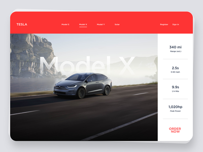 Tesla website concept graphic design typography minimalist app ux tesla ai tesla electric car model car auto graphic design ui design landing page web page branding ui minimal