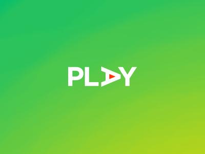 Play minimalist art direction best logo visula text project vtp textlogo minimal logo design graphic play