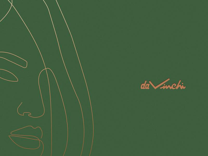 davinchi branding branding logo graphic illustration minimalist fashion best logo bag design minimal