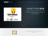 Kidneython - Marathon Management Web app
