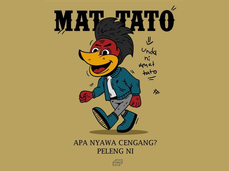 MATTATO Bird Illustration
