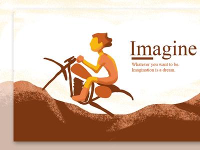 Illustration Motocross - Imagine