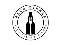 Beer Dinner Stamp