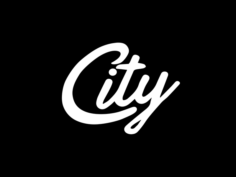 City Youth T-Shirt t-shirt design hand lettering logotype