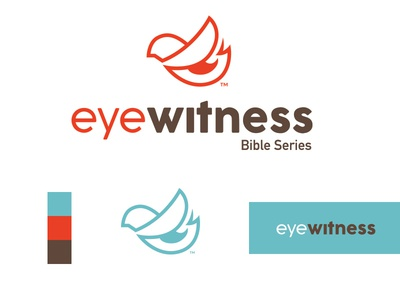 Eye Witness christian design christian logo christian logo brand mark logo