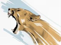 Puma Illustration