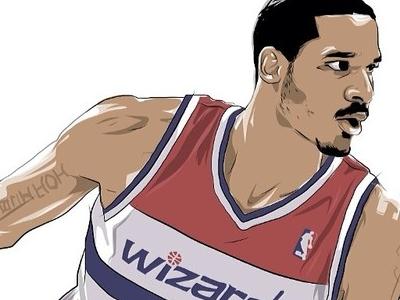 Trevor Ariza Illustration