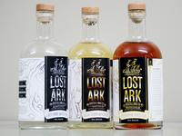 Lost Ark Distilling Bottles