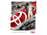 Toyota Racing Business Review Cover