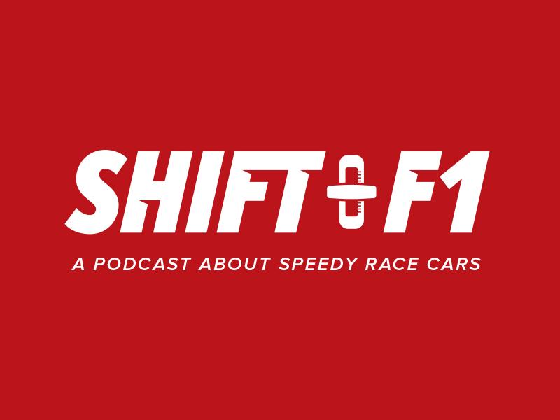 Shift F1 (America) sport bold italic shifter podcast logo car race racing f1 shift