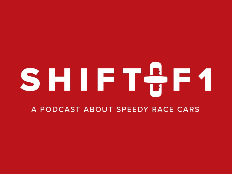 Shift F1 (Euro) european sport bold shifter podcast logo car race racing f1 shift