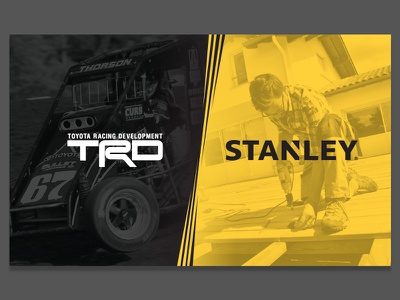TRD/Stanley Proposal Cover stanley toyota gradient proposal racing yellow black tools cover