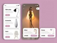UI/UX Furniture Store App