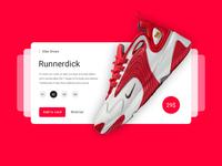 Product Card UI UX Design / Nike