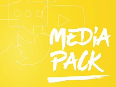 Social Chain Mediapack powerpoint pdf branding design layout presentation