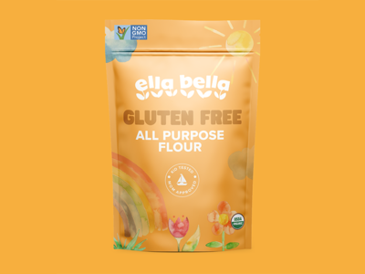 Ella Bella - Unused Packaging Concepts flour branding packaging