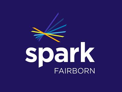New Branding for City of Fairborn Incubator spark logo branding