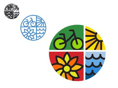 New brandmark for local organization! icon design logo creative direction illustration branding