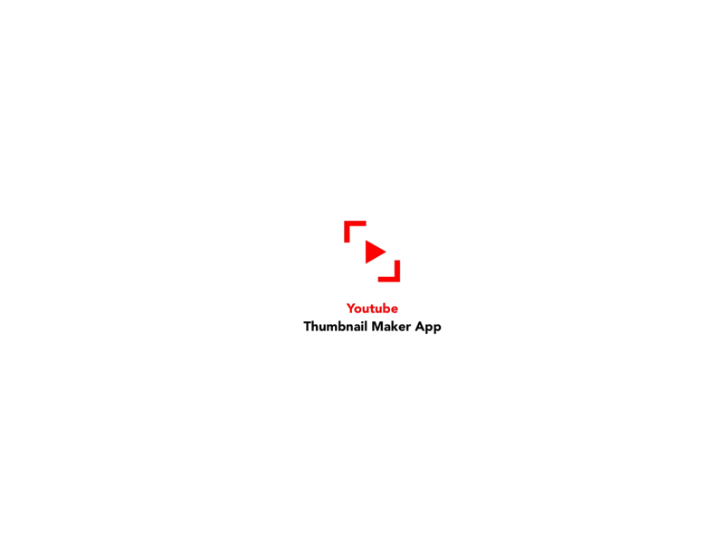 Youtube Thumbnail Maker App by Furkan Arıncı on Dribbble