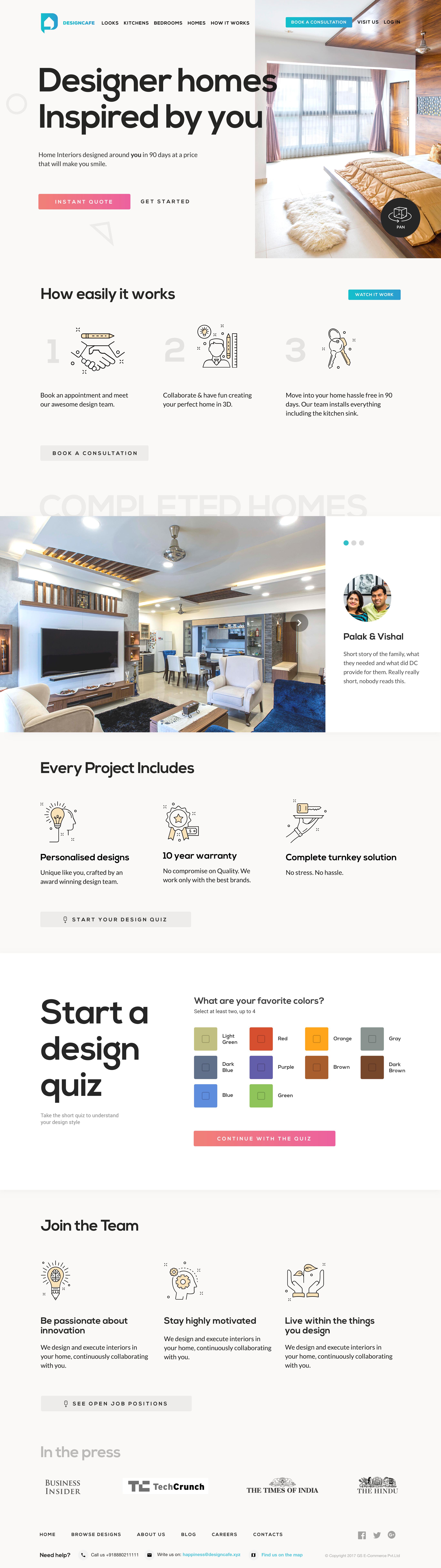 Homepage v4