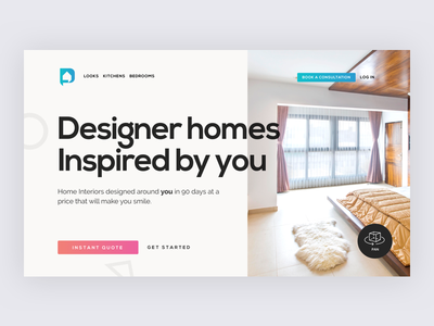 Designcafe app online shop home furniture landing ux ui research discovery interior web