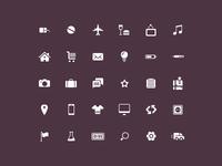 Plain Icon Set