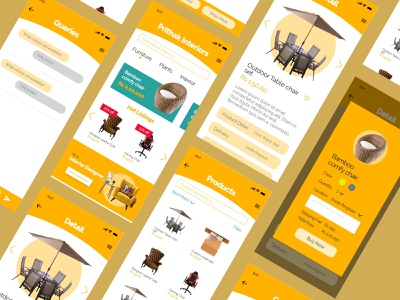 Furniture app concept ui design nepal branding typography minimal desktop design web uidesign ui