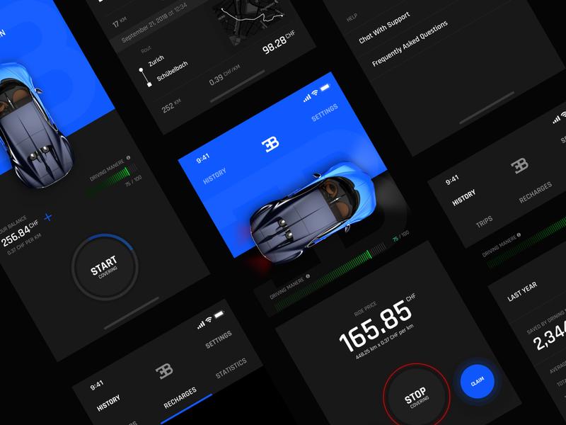Car Insurance Concept App concept app insurance app car