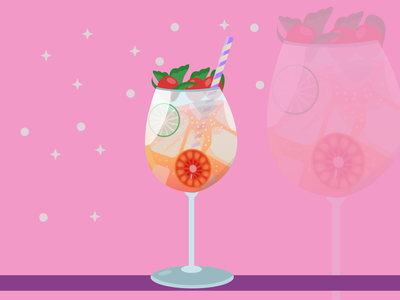 Cocktail Time vector artist vector daily vector illustration affinity art illustrator affinity designer illustration drink art drink cocktail vector cocktail art