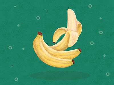 Bananas Illustration daily vector daily art made in affinity bananas illustration banana design fruit art fruit illustration