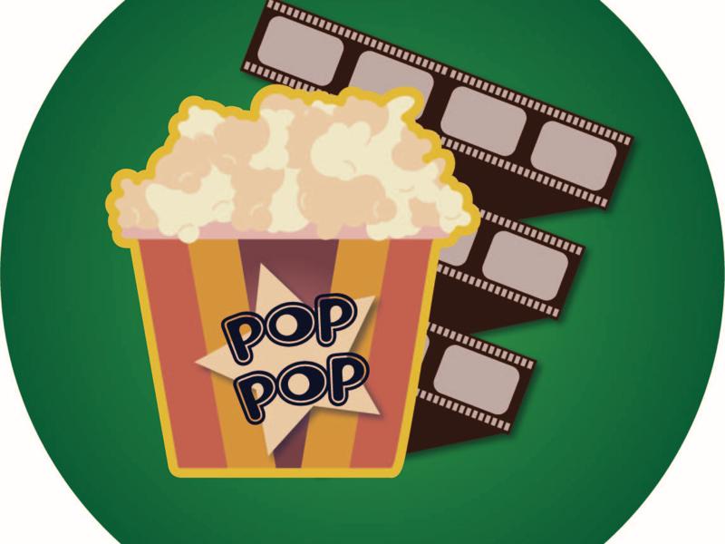 Cinema Love cinema icon movie icon movie tickets adobe illustrator movies vector popcorn popcorn cinema flat design