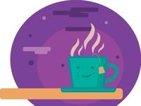 Evening Tea Cup