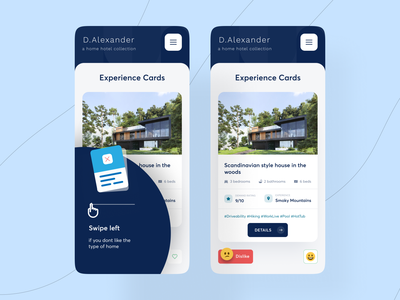 Booking UI booking system responsive design web ux ui design