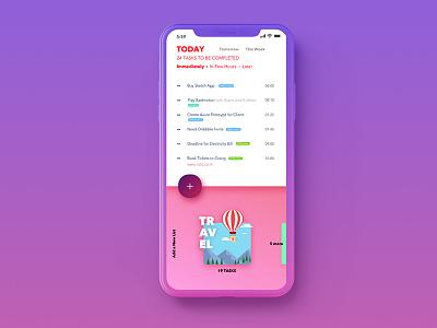 To-DO App Concept