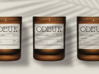 Branding for Odeur Botanical Candles