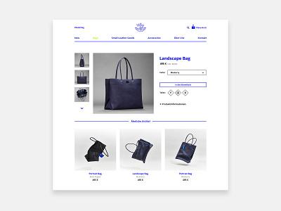 Product Detail Page - Fashion - E-Commerce - Online Shop website landingpage product fashion ecommerce responsive web design design ui