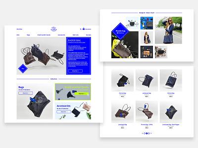 Homepage - Product - Fashion - E-Commerce - Online Shop product website web design ui responsive landingpage design ecommerce fashion