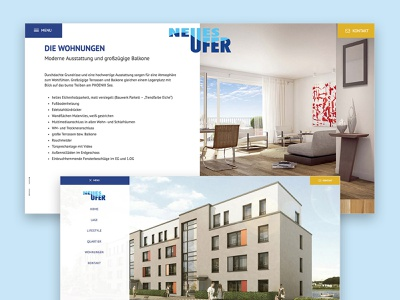 Real estate Detailpage Architecture Website immobilien realestate homepage company responsive website ui web design landingpage design