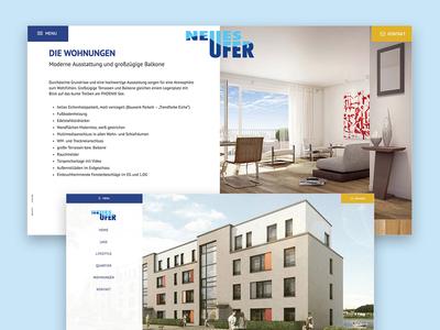 Real estate Detailpage Architecture Website
