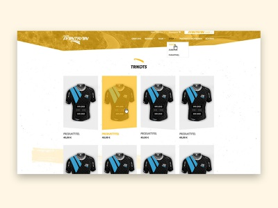 Product overview - Sport - Landingpage homepage company product product page responsive website web design ui landingpage design sports