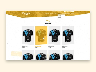Product overview - Sport - Landingpage