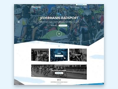 Homepage - Sport sports branding company responsive website ui web design landingpage design homepagedesign homepage sport