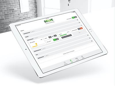 Smart Home App responsive application design design smart home app