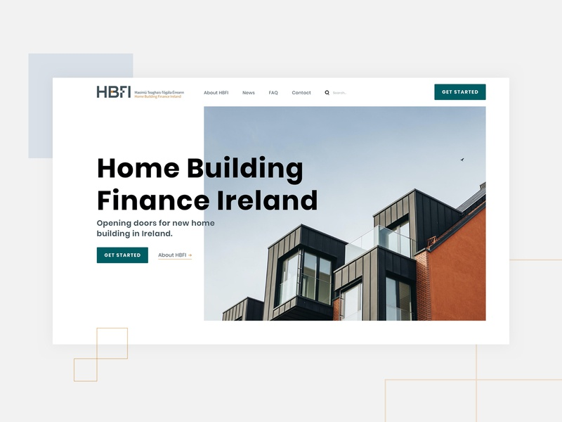HBFI - Website webdesign ux design ux ui corporate dublin ireland ui design website design