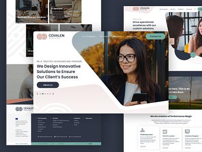 Covalen - Website ireland webdesign corporate ux design ui design website design