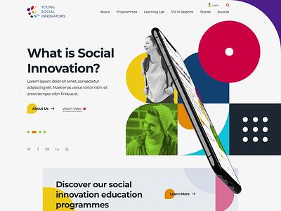 YSI - Website branding webdesign ireland ui design website design