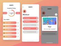 Habit Tracking App Concept