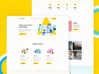 Web Design for Aspira (Concept)